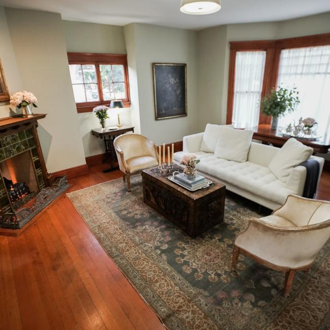 Victorian Living Space And Living Room Pictures Hgtv Photos